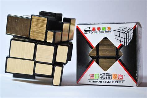 tutorial rubik 3x3 mirror cubo rubik shengshou mirror 3x3 plateado o dorado 95