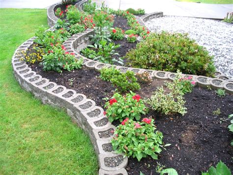 Landscape Edging Blocks Terralite Landscaping Block The Blockmakers