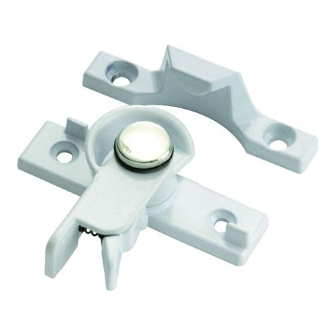 prime line white vinyl window security lock u 9809 the