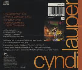 Cd Dvd Cyndi Lauper Album The Acoustic cyndi lauper heading west picture uk cd single cd5 5