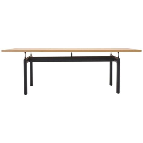 Le Corbusier For Cassina Lc6 Dining Or Conference Table At Lecornu Dining Tables
