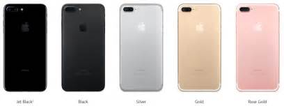 iphone color which color iphone 7 or iphone 7 plus should you buy