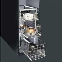 Kitchen Cabinets Accessories Manufacturer Three Wheel Trolley Manufacturers Suppliers Exporters In India