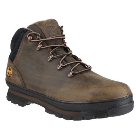 Timberland Safety Brown timberland pro splitrock brown nubuck safety boots 6201043