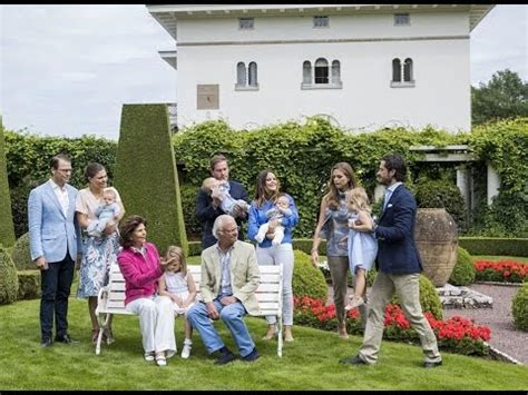 swedish royal family summer portraits  youtube
