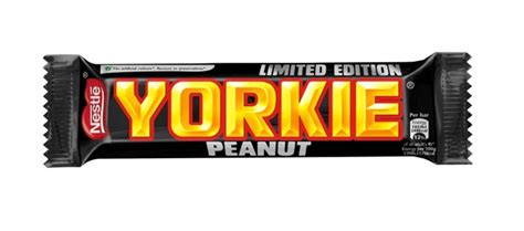yorkie spotlight spotlight nestle limited edition yorkie peanut bar trendmonitor