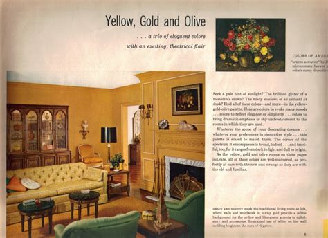 Livingroom Paint Colors 17 groovy home interiors from 1965 retro renovation