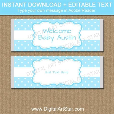 Baby Boy Candy Bar Wrapper Template Boy Baby Shower Ideas Bar Wrappers Template For Baby Shower Printable Free