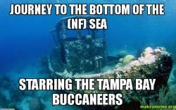 Ta Bay Buccaneers Memes - journey to the bottom of the nf sea starring the ta