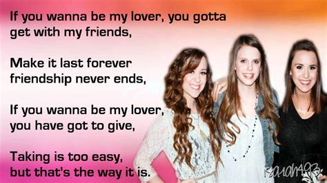 lyrics spice wannabe wannabe spice cover by alvord and megan liz lyrics on screen