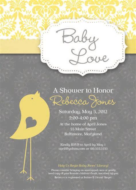 Baby Shower Bird Theme Invitations by Best 25 Baby Bird Shower Ideas On