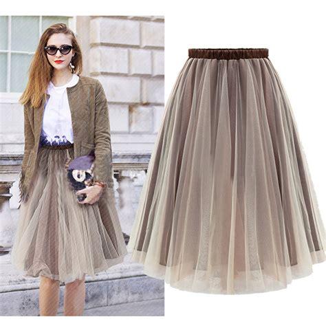 fashion 2015 organza chiffon tutu skirt maxi