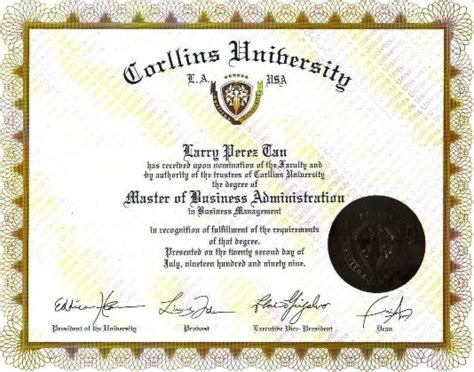 Is There Magna Laude For Mba by My Personal Information And Credentials