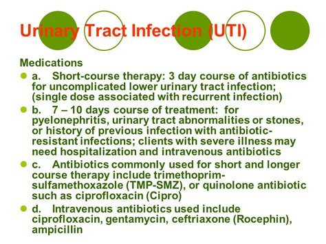 antibiotics for c section infection urinary tract infection uti ppt video online download