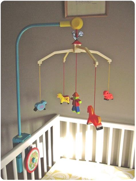 vintage mobiles for baby cribs 1964 vintage fisher price crib mobile amazing condition