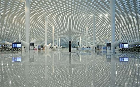 air max terminal 3 at shenzhen airport by studio fuksas fuksas completes terminal 3 at shenzhen bao an