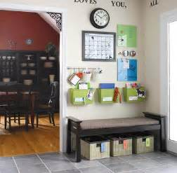 Create a command center and get your paper piles off the counter