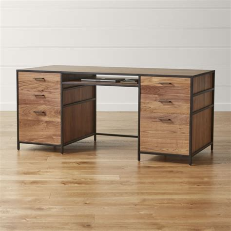 crate and barrel desk executive desk reviews crate and barrel