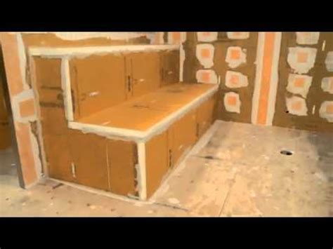how to make steam room in your bathroom kerdi shower systems steam room installation youtube