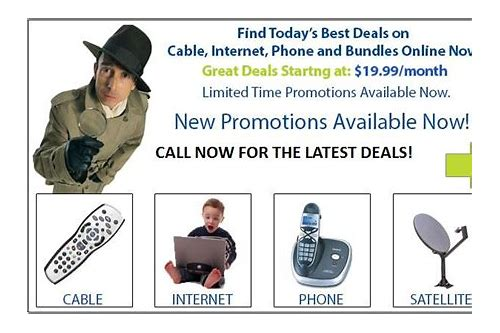 cable deals internet