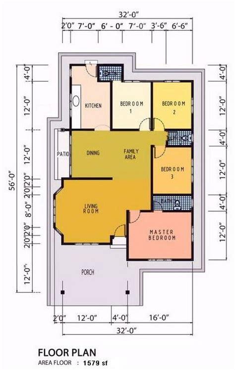 layout rumah 4 bilik rumah teres setingkat 4bilik google search house s