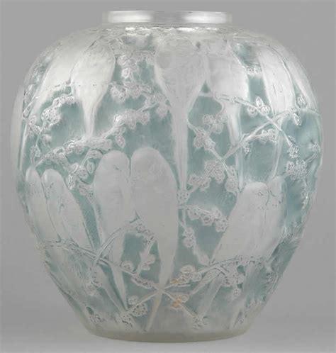 Rene Lalique Vases by Rene Lalique Vase Perruches 1455 Rlalique
