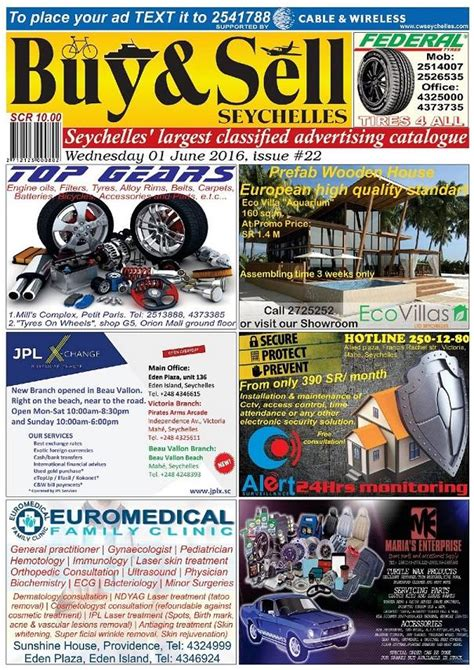 buysell seychelles buysell  wednesday  june