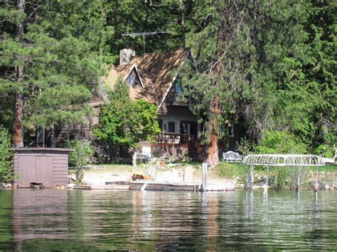 Percy Priest Lake Cabins by Beautiful Priest Lake Idaho Waterfront Cabin Vrbo