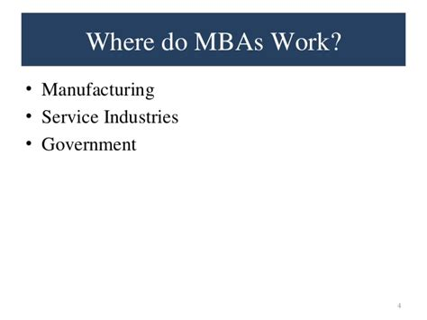For Mba Graduate 70k And Up by Why Mba Presentation
