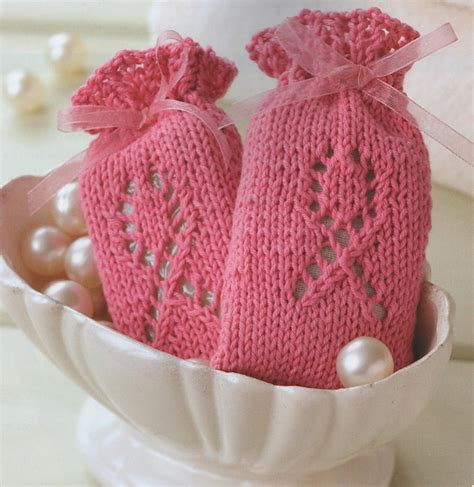 knit pattern soap holder ravelry knitting for a cure sachet or soap cover pattern