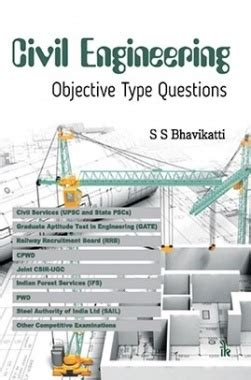 civil engineering objective type questions by s s