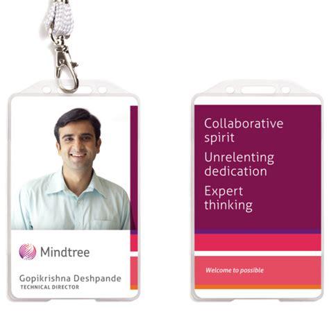google id card design brand new mindtree wraps around the globe
