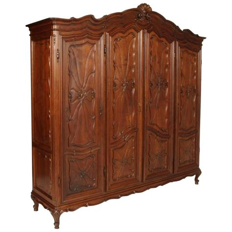 baroque bedroom set superb italy baroque massive carved walnut complete bedroom sets for sale at 1stdibs
