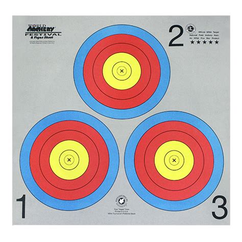 printable nfaa targets nfaa archery targets pictures to pin on pinterest pinsdaddy
