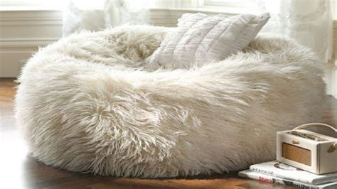 furry bean bag chairs fuzzy bean bag chair bean bag chair