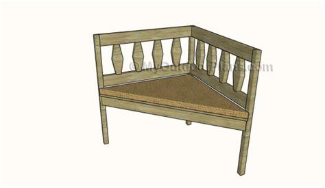 corner bench plans corner bench plans myoutdoorplans free woodworking