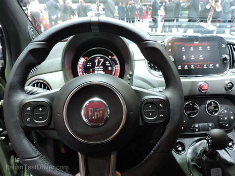 interni 500s salone di ginevra 2016 live nuova fiat 500s e 500s cabrio