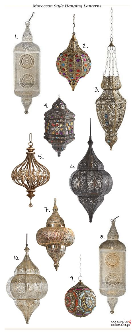 Moroccan Inspired Lighting Moroccan Style Hanging Lanterns Moroccan Lighting Hanging Lanterns And Bohemian Style