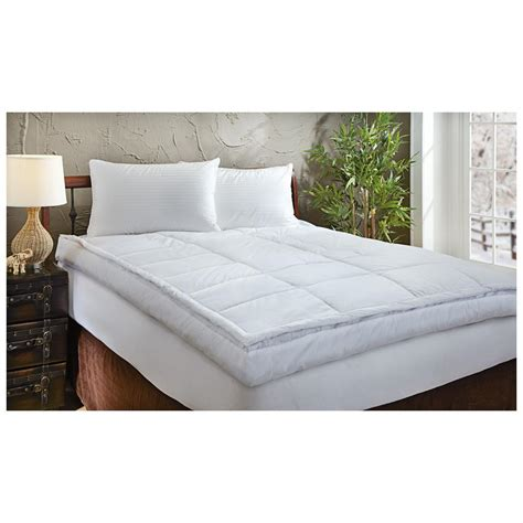 down feather bed 5 quot down top feather bed 582576 mattress toppers at