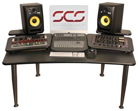 Sound Construction Avm 6x2 Audio Video Mixing Mastering Professional Studio Desk