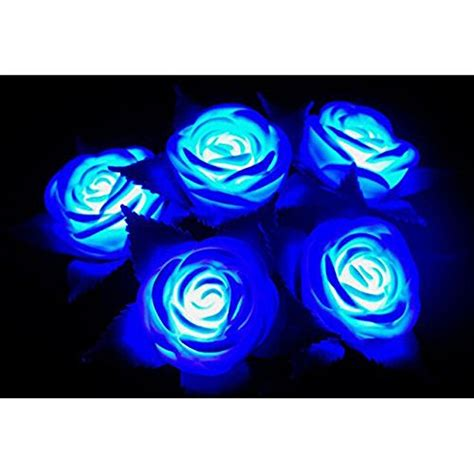 Led Roses Lights Up Mothers Day by Hitop Led Blue Lights And Beautiful