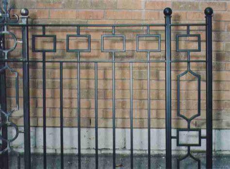 Modern Wrought Iron Gates And Fences Modern Iron Gates Studio Design Gallery Best Design