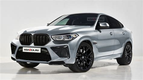 bmw x6 2020 all new 2020 bmw x6 m will probably look just like this