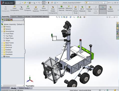 solidworks tutorial how to animate a 6 dof degrees of solidworks robot gallery