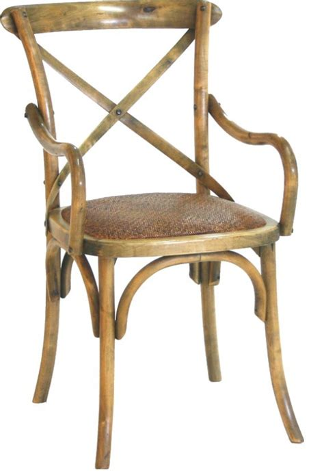 Cross Back Bistro Chair New Quot Noosa Quot Oak Carver Bistro Style Timber Cross
