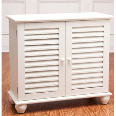 shutters for kitchen cabinets 2 door shutter cabinet in white
