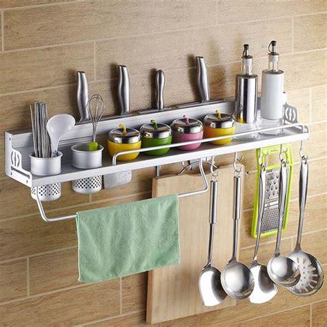 Keranjang Gantung Serbaguna Lipat rak dinding dapur aluminium serbaguna rak gantung tempat