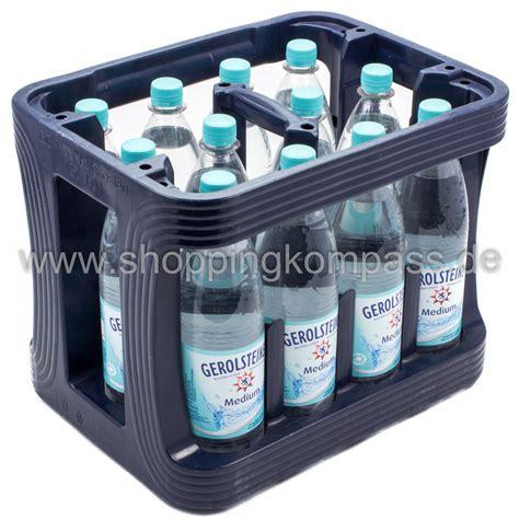 1 kasten wasser mineralwasser gerolsteiner mineralwasser medium kasten