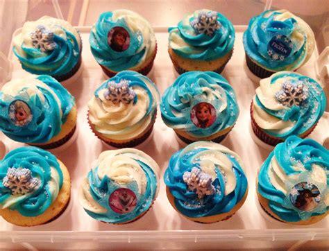 disneys frozen cupcakes  lilas  birthday  creations disney frozen cupcakes