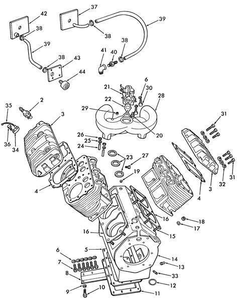 wisconsin motor parts 2 cylinder wisconsin engine tjd 2 free engine image for